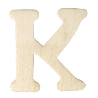 Holz-Buchstaben, 4 cm, K