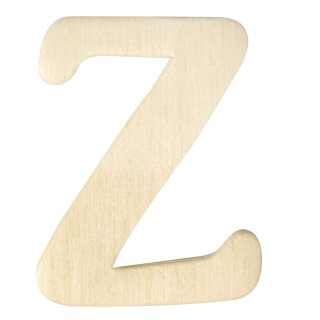 Holz-Buchstaben, 4 cm, Z