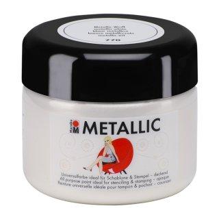 Marabu Metallic Metallic-Weiß 770, 225 ml