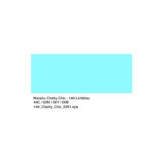 Marabu Chalky-Chic Kreidefarbe, Lichtblau 144, 100 ml