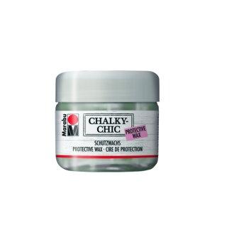 Marabu Chalky-Chic Schutzwachs Transparent 855, 225 ml