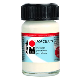 Marabu Porcelain, Weiß 070, 15 ml