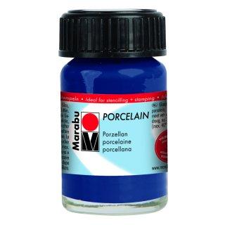 Marabu Porcelain, Nachtblau 293, 15 ml
