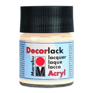 Marabu Decorlack Acryl, Elfenbein 271, 50 ml