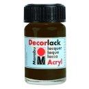 Marabu Decorlack Acryl, Dunkelbraun 045, 15 ml
