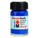 Marabu Decorlack Acryl, Mittelblau 052, 15 ml