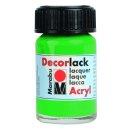 Marabu Decorlack Acryl, Hellgrün 062, 15 ml
