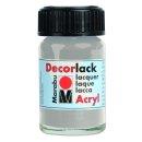 Marabu Decorlack Acryl, Metallic-Silber 782, 15 ml
