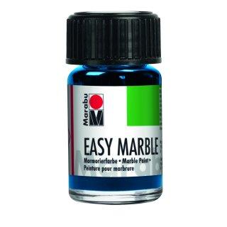Marabu easy marble, Azurblau 095, 15 ml