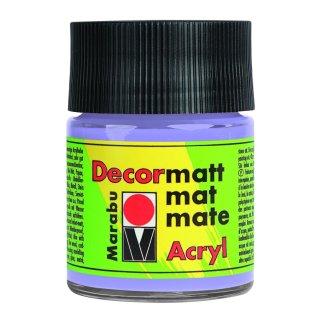 Marabu Decormatt Acryl, Lavendel 007, 50 ml