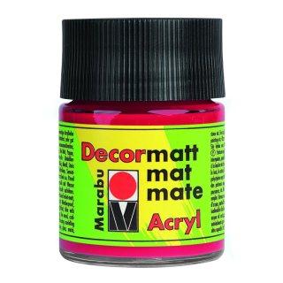 Marabu Decormatt Acryl, Kirschrot 031, 50 ml
