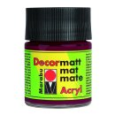 Marabu Decormatt Acryl, Bordeaux 034, 50 ml