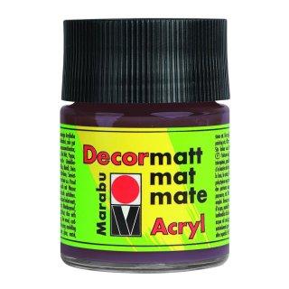 Marabu Decormatt Acryl, Mittelbraun 040, 50 ml