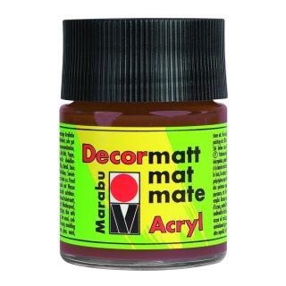 Marabu Decormatt Acryl, Hellbraun 047, 50 ml
