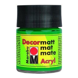 Marabu Decormatt Acryl, Saftgrün 067, 50 ml