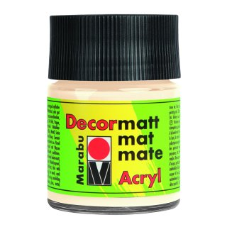 Marabu Decormatt Acryl, Elfenbein 271, 50 ml