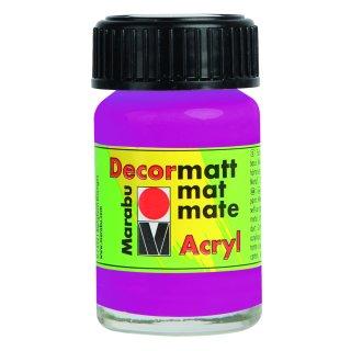 Marabu Decormatt Acryl, Magenta 014, 15 ml