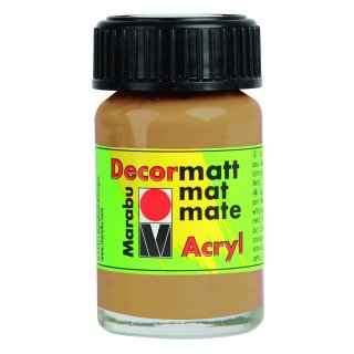 Marabu Decormatt Acryl, Sand 042, 15 ml