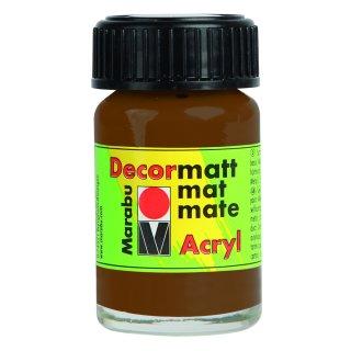 Marabu Decormatt Acryl, Hellbraun 047, 15 ml