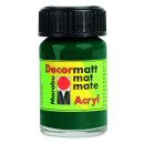 Marabu Decormatt Acryl, Tannengrün 075, 15 ml