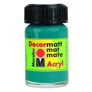 Marabu Decormatt Acryl, Türkis 290, 15 ml