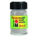 Marabu Decormatt Acryl, Metallic-Silber 782, 15 ml