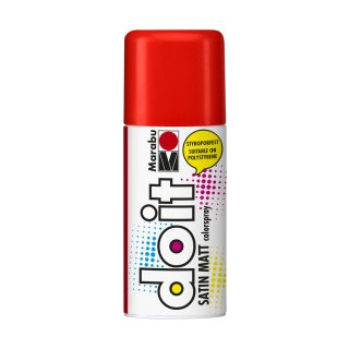 Marabu do it Colorspray Satin Matt, Zinnoberrot 006, 150 ml