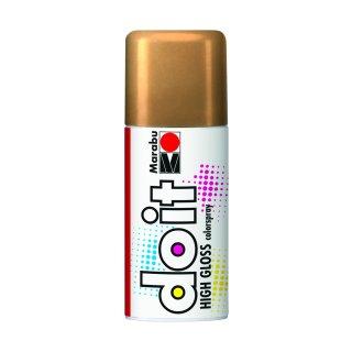 Marabu do it Colorspray High Gloss, Hochglanz-Gold 484, 150 ml