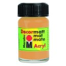 Metallic-Gold 784 Marabu Decormatt Acryl, 15 ml