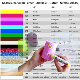 Marabu Candle-Liner, 25 ml, Wachsmalfarbe