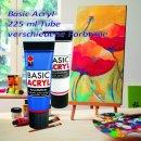 Marabu Basic Acryl, Kreativfarbe, Farbauswahl, 225 ml
