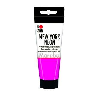 NEON Pink, New York Neon, fluoresziende Leuchtfarbe