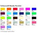 Porzellanmalfarbe Marabu Porcelain 15 ml verschiedenen Farben