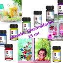 Marabu Glasmalfarbe, 15 ml viele Farbtöne