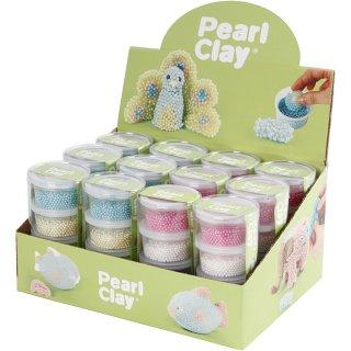 Pearl Clay® - Sortiment, verschiedene Farbtöne