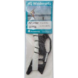 HQ-Winderset Polyester 25 kp, 2 x 25 m