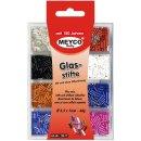 Glasstifte-Sortiment, ø ca.2,5 x7mm, 60g p.Blister