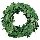 Mini Buchsbaum-Girlande, 3m/Rolle, grün