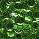 Pailletten im Blister  1.400 Stck. / grün