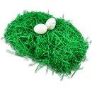 Ostergras aus Papier, grün, 40g