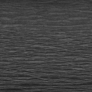 Bastel-/Feinkrepppapier, 50x250 cm  schwarz