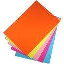 Tonzeichenpapier, 130g/m², 50 x 70 cm, apricose