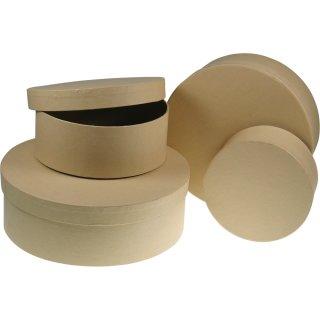 Pappschachtel, rund, ø 110x50 mm
