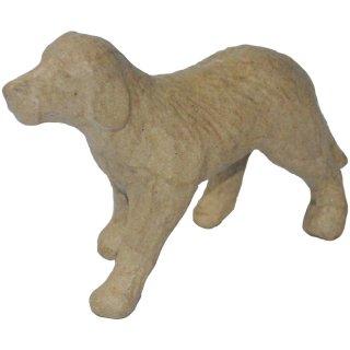 "Pappmaché ""Hund"" 11x 9cm"