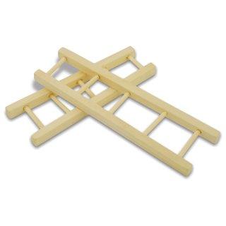 Deko- Holzleiter - 2 Größen sortiert