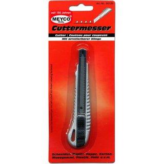 Cuttermesser Profi, Länge: 135 mm, Klinge: 9 mm
