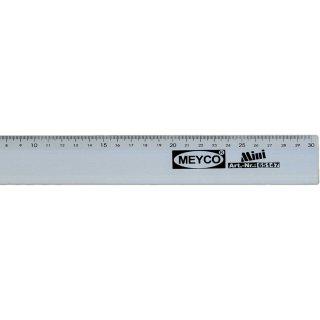 MEYCO-Alulineal, 30 cm,4cm breit