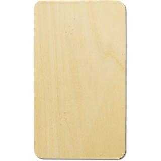 Holzbrett, 24,5x14,5 cm, aus Lindenholz, im Folie