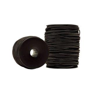 Gummischnur 3 mm schwarz ab 1 Meter