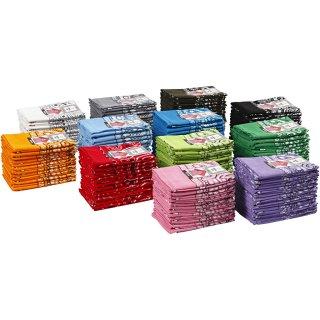 Bedrucktes Bandana-Tuch, Größe 55x55 cm, verschiedene Farben